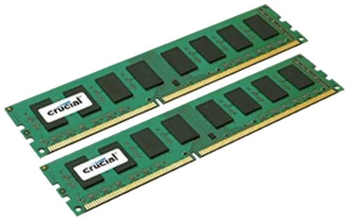 Crucial 16GB (2x8GB) DDR3L 1600 Dual Voltage