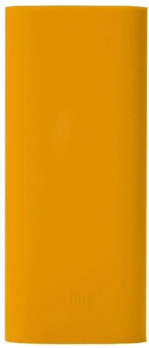 Xiaomi silikonové pouzdro pro Xiaomi Power Bank 16000 mAh, žlutá