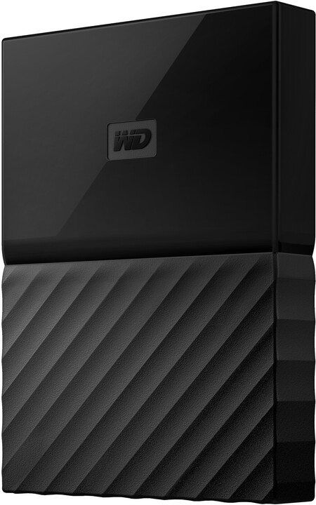WD My Passport - 4TB, černá