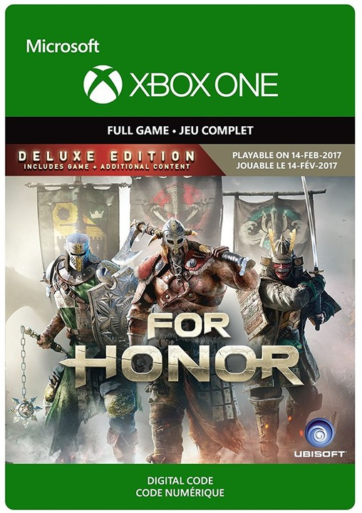 For Honor: Deluxe Edition (Xbox ONE) - elektronicky