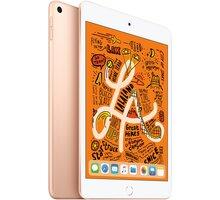 Apple iPad Mini, 64GB, Wi-Fi, zlatá, 2019  + Při nákupu nad 3000 Kč Kuki TV na 2 měsíce zdarma vč. seriálů v hodnotě 930 Kč