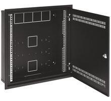 Solarix SOHO do zdi 2U,4U,11U, 550x550, RAL9005, rámeček k zazdění - 86000549