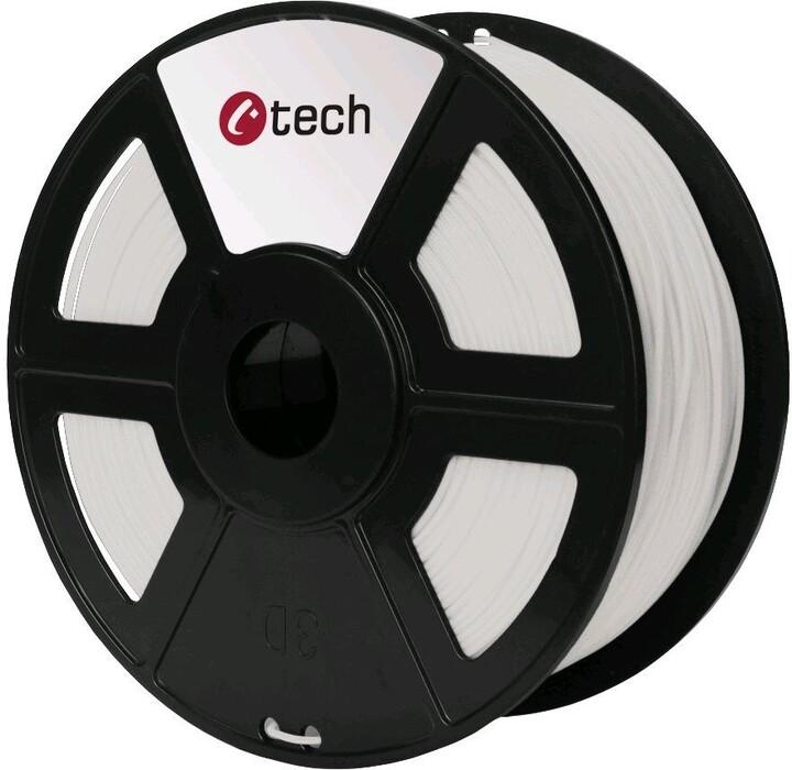 C-TECH tisková struna (filament), PLA, 1,75mm, 1kg, natural