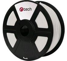 C-TECH tisková struna (filament), PLA, 1,75mm, 1kg, natural - 3DF-PLA1.75-NT