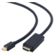Gembird CABLEXPERT kabel miniDisplayPort na HDMI, 4K, M/M, 1,8m