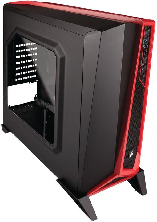 Corsair Carbide SPEC-ALPHA, černo-červená