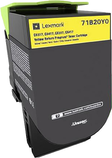 Lexmark CS/X317, yellow