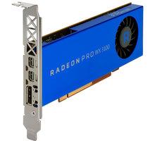 HP Radeon Pro WX 3100, 4GB GDDR5 - 2TF08AA