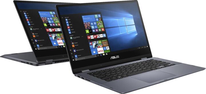 ASUS VivoBook Flip 14 TP412FA, modrá