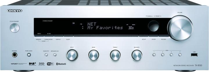 Onkyo TX-8150, stříbrná