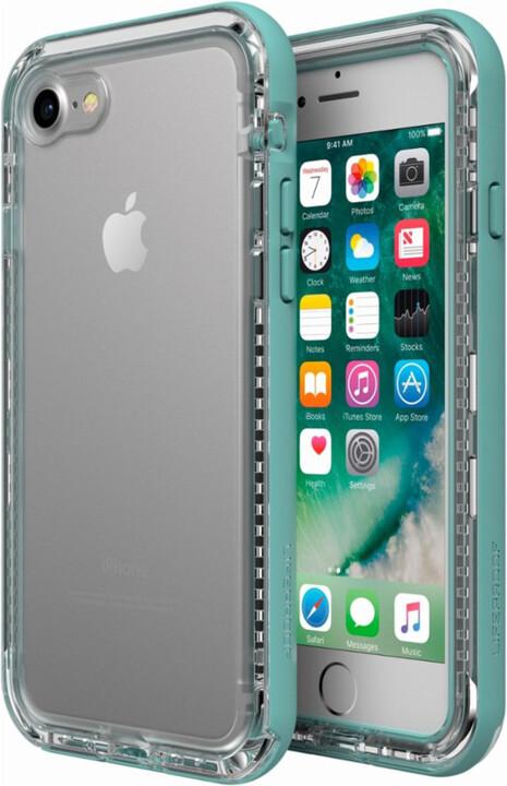 LifeProof Next ochranné pouzdro pro iPhone 7/8 průhledné - světlezelené