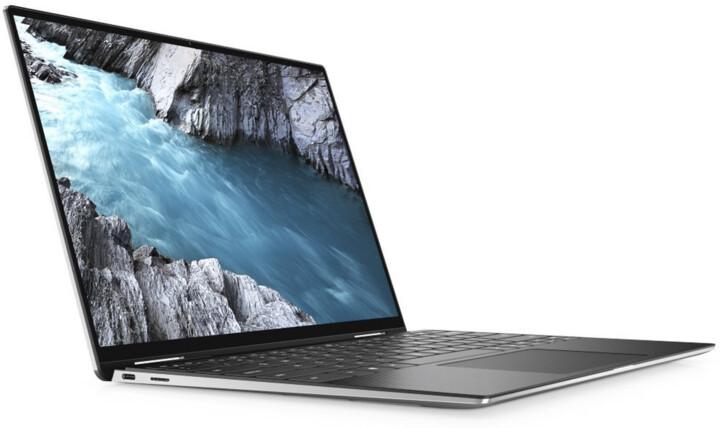 Dell XPS 13 (7390), stříbrná/černá