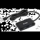 YENKEE YHB 4341BK Hub 4x USB 3.0, černá  + RXL 202 řetěz 50LED 5+5m WW TM RETLUX (v ceně 199,-)