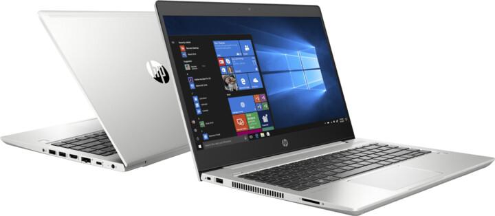 HP ProBook 440 G6, stříbrná