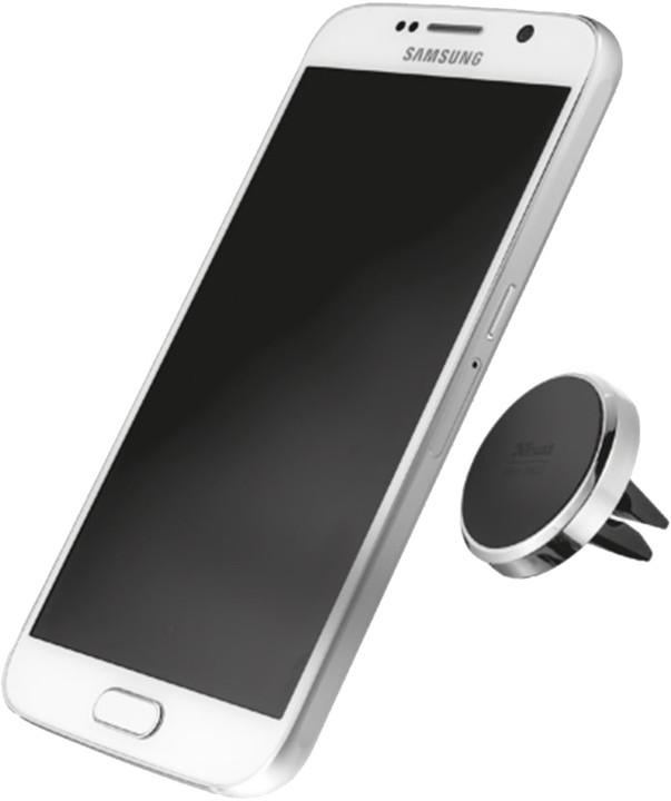 Trust magnetický držák do mřížky v autě pro telefony