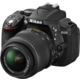 Nikon D5300 + 18-55 VR + 70-300 VR, černá