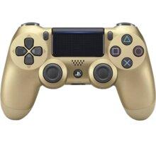 Sony PS4 DualShock 4 v2, zlatý  + Možnost vrácení nevhodného dárku až do půlky ledna