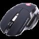 CONNECT IT Alien myš, černá  + Podložka pod myš CZC G-Vision Dark, L (v ceně 250 Kč)