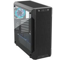SilentiumPC Armis AR7 TG RGB, okno, černá  + 100Kč slevový kód na LEGO (kombinovatelný, max. 1ks/objednávku)
