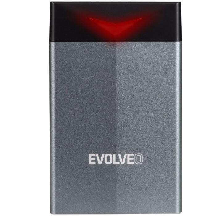 """Externí box Evolveo Tiny G1, 2,5"""", USB 3.0"""