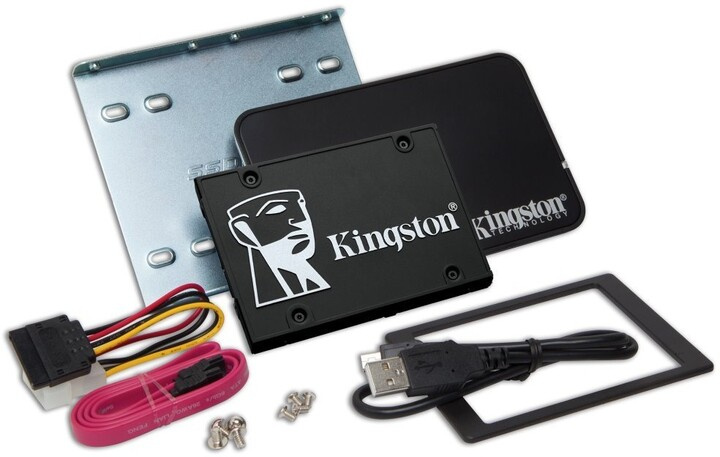 Kingston KC600, 2.5'' - 256GB, bundle kit