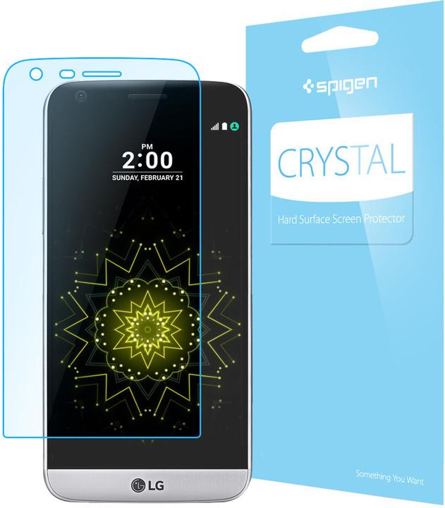 Spigen SP Ultra Crystal CR ochranná fólie pro LG G5