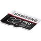 Samsung Micro SDHC PRO+ 32GB UHS-I U3 + SD adaptér