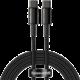 BASEUS kabel USB-C - USB-C, rychlonabíjecí, datový, 100W, 2m, černá