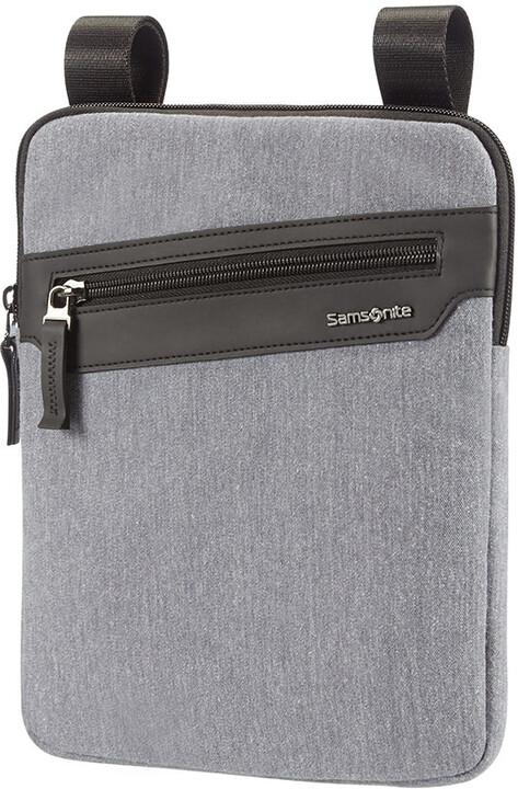 """Samsonite Hip-Style 2 - FLAT TABLET CROSSOVER 9.7"""", světle šedá"""