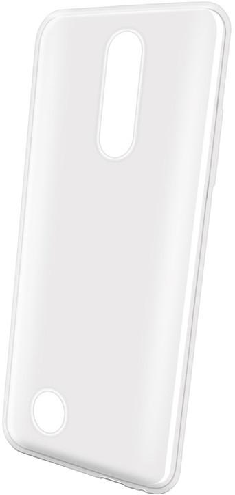 CELLY Gelskin TPU pouzdro pro LG K10 (2017), bílé