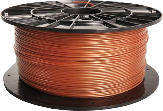 Filament PM tisková struna (filament), PLA, 1,75mm, 1kg, měděná