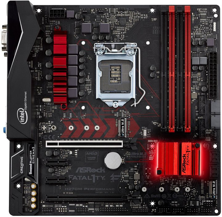 ASRock Fatal1ty H270M Performance - Intel H270