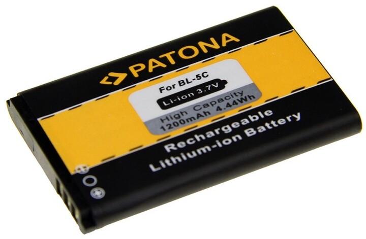 Patona baterie pro Nokia BL-5F 1100mAh 3,7V Li-Ion