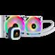 Corsair H100i RGB Platinum SE WHITE, (2x120mm)