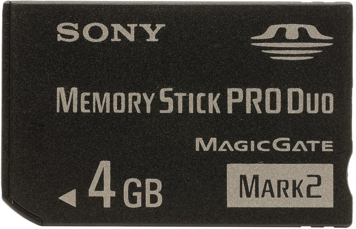 Sony Memory Stick Pro DUO MSMT4GN 4GB