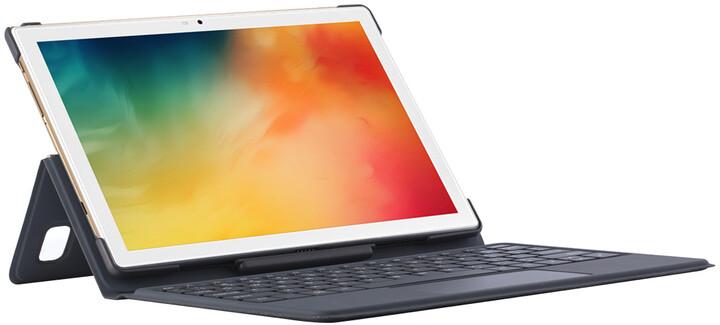 iGET Blackview TAB G8, 4GB/64GB, LTE, Gold + pouzdro s klávesnicí
