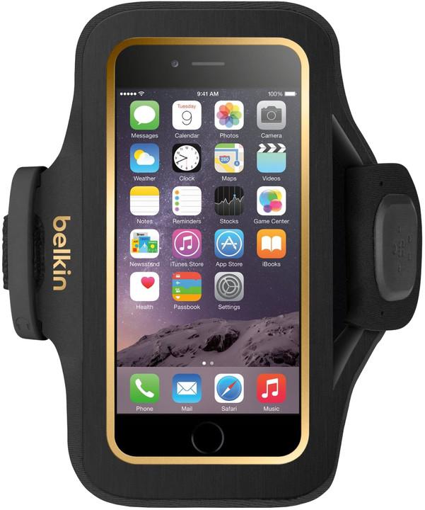 Belkin Sport Fit Plus Armband pouzdro pro iPhone 6/6s, blacktop