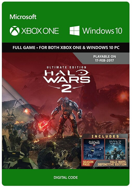 Halo Wars 2: Ultimate Edition (Xbox Play Anywhere) - elektronicky