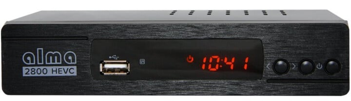 Alma Set-top box 2800 T2 , černý