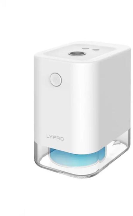 UNIQ LYFRO FLOW bezdotykový rozprašovač antibakteriálního spreje, bílá