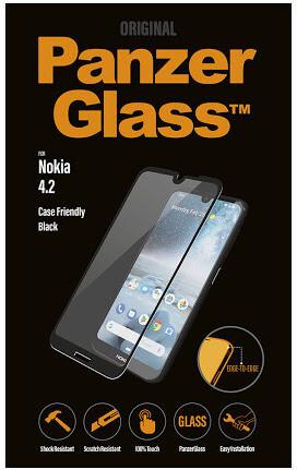 PanzerGlass Edge-to-Edge pro Nokia 4.2, černá