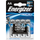 Energizer baterie FR6/4 Ultimate Lithium AA, 4ks