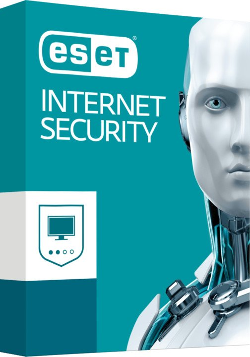 ESET Internet Security pro 4 PC na 3 roky