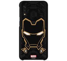Samsung stylové pouzdro Iron Man pro Galaxy A40 - GP-FGA405HIBBW