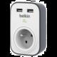 Belkin SurgeStrip přepěťová ochrana, 1 zásuvka, USB