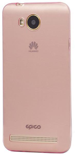 EPICO pružný plastový kryt pro Huawei Y3 II RONNY GLOSS - růžový