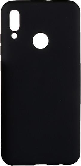 EPICO pružný plastový kryt pro Huawei P Smart (2019) SILK MATT, černá