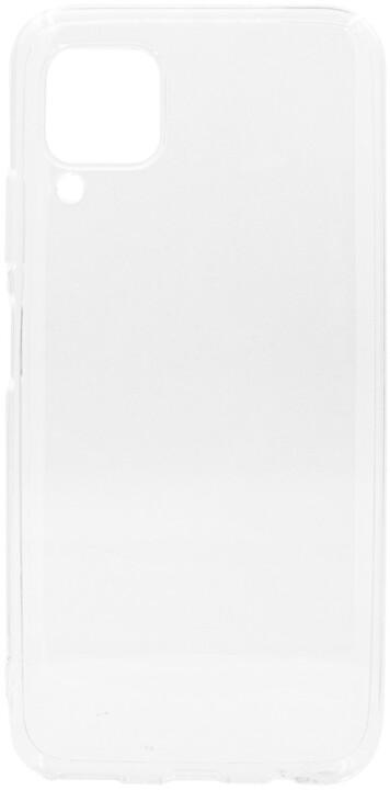 EPICO plastový kryt RONNY GLOSS pro Huawei P40 Lite / Nova 6SE, bílá transparentní