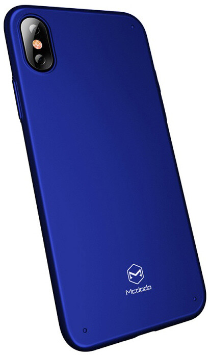 Mcdodo iPhone X Super Vision Grip Case (PC), Blue