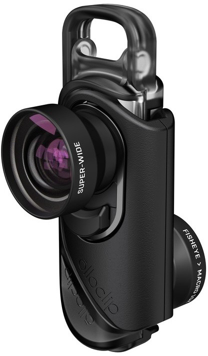Olloclip core lens + 2 cases, black/black - i7/i7+